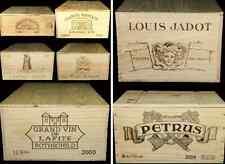 6 X GENUINE FRENCH WOODEN WINE CRATES BOXES  PLANTER HAMPER DRAWERS / STORAGE :