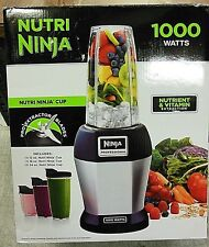 Nutri Ninja Professional Blender BL455 w/3 Bonus Sip&Seal Cups SLIGHTLY USED