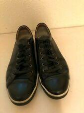 Mens Black Johnston & Murphy Leather Tennis Shoes. Sz 12M.
