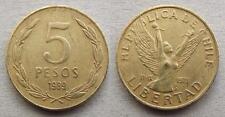 17 CHILI 5 pesos 1989