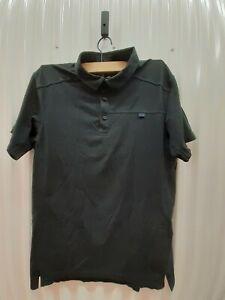 Arc'Teryx Captive SS Polo Sz L Black Color. Pre-owned and Genuine. Retail 67$
