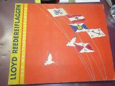 X - Lloyd Reedereiflaggen el Welthandelsflotte Completo