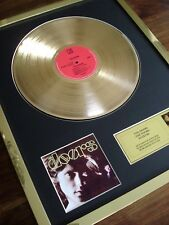 THE DOORS DEBUT FIRST ALBUM LP 24CT GOLD PLATED DISC RECORD AWARD ALBUM
