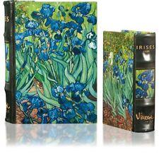 Art Masterpiece Collection Vincent Van Gogh Irises Secret Nesting Book Box Set