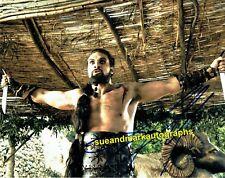 Jason Momoa Khal Drogo Game Of Thrones Khal Of the Dothraki Autograph UACC RD 96
