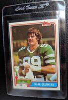 1981 TOPPS #342 MARK GASTINEAU ROOKIE CARD RC NEW YORK JETS HOF MINT