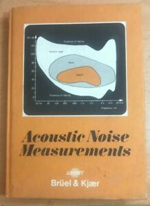 Acoustic noise measurements by Hassall, J. R