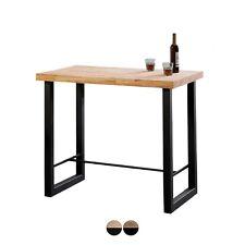 Mesa alta de bar contract o barra de cocina o terraza, Roble, Natural - Loft