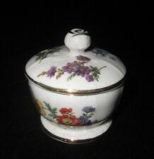 Vintage Hammersley Fine Bone English China 'Spring Flowers' Trinket Box