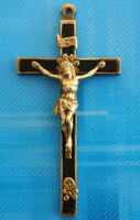 #3059# Vintage/ Médaille Croix religieuse/ Insigne pendentif. Insigne Chrétien