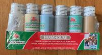 Apple Barrel Acrylic SATIN FINISH MULTI-SURFACE Colors Paint Set, 2 oz-12 PACK