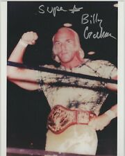 Superstar Billy Graham Signed WWF Champion 8x10 Photo #2 WWE