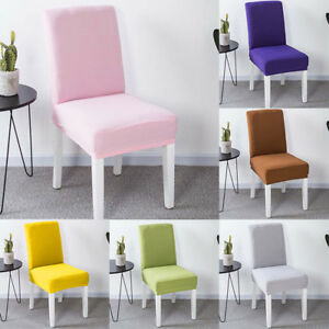 Spandex Stretch Wedding Chair Cover Dining Room Seat Covers Slipcover Home Decor