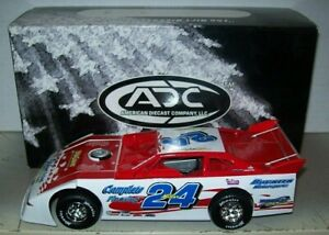 JEREMY MILLER #24 2005 1/24 ADC DIRT LATE MODEL DIECAST WHITE SERIES 85/250 MADE