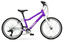 """Woom 4 Bike - 20"""" Purple Excellent Condition (Professionally serviced) + Bell"""