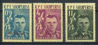 Albanien 1962 Mi. 647a-649a Postfrisch 100% Aufdruck Gagarin, Luft