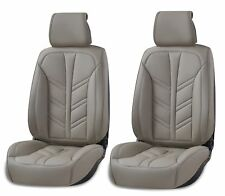 Lux Gris Polipiel Asiento Delantero Cubiertas para Dacia Duster Dokker Logan