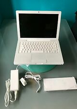 "Apple MacBook 13"" - Core 2 DUO Nuova Batteria + Caricabatteria Bundle GRATIS P&P GRATIS S/Ware"