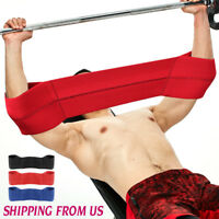 Bench Press Gym Body building Weight Elbow Lifting Support Power Band