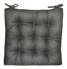 6 Coussins Galettes Dessus de chaise Gris
