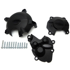 Engine casing slider crash protection cover set for Kawasaki ZX-6R 2009-2015