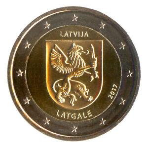 Sondermünzen Lettland: 2 Euro Münze 2017 Latgale Sondermünze Gedenkmünze