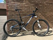 "2011 Giant Anthem X2 Mountain Bike Medium 26"" Aluminum , 120mm Fox many upgrades"