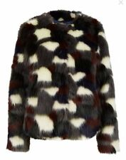 Faux Fur Regular Size Coats, Jackets & Waistcoats for Women