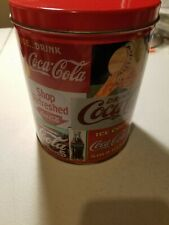 Vintage 1993 COCA-COLA Jigsaw Puzzle 700 Piece Round Tin Can