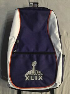NWT Super Bowl XLIX (49) NEW Back Pack (New England Patriots) Free Shipping!