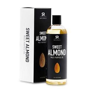 Sweet Almond Oil 16oz - SR Naturals