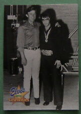 ELVIS PRESLEY WITH CELEBRITIES, 1992 COLLECTION #304 CARD, JIMMY DEAN