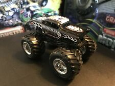 Hot Wheels Monster Jam Truck 1/64 Die-cast Metal Rare Black Avenger