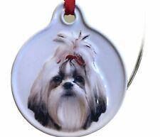 Shih Tzu Ornament Dog Ornament Ceramic New