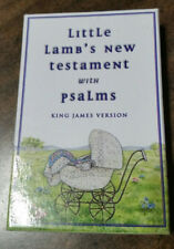 Little Lamb'S New Testament with Psalms-Kjv-Gift Pocket Bible-Pink-New in box