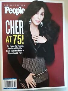 Cher at 75 ! People Special Edition magazine - NEW 2021