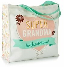 NWT Super Grandma To The Rescue Tote Bag by Hallmark!