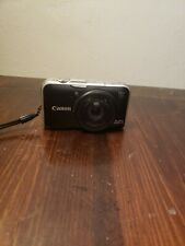 Canon PowerShot SX230 HS 12.1MP Digital Camera - Black UNTESTED