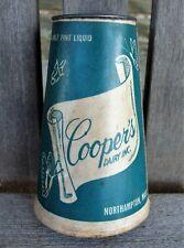 COOPER'S DAIRY ~ MILK BOTTLE KONE ~ NORTHAMPTON MASSACHUSETT MILK BOTTLE GO WITH