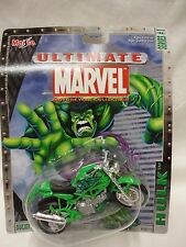 Maisto Ultimate Marvel Motorcycle Collection - The Hulk Ducati Monster 900 M5
