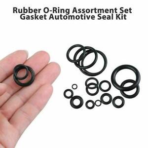 225pcs Rubber O-Ring Washer Assortment Kit Gasket Hydraulic Set Seal Z3E0