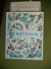 Handmade Note Cards - with Matching gift Box