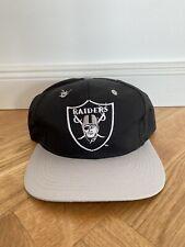 Vintage Logo 7 Sports Specialties Snapback Cap Los Angeles Raiders Oakland Hat