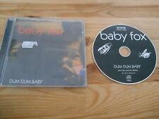 CD Metal Baby Fox-Dum Dum Baby (15) canzone Roadrunner Rec