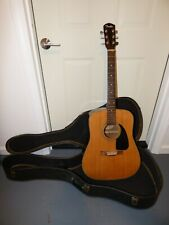 Fender Acoustic Guitar' Model Dg-3 W/ Case 50th Anniversary