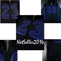 SZ XL 🆕 Nike Air Jordan Flight Flash 23 Full Zip Hoodie Men's Fleece 853849-011