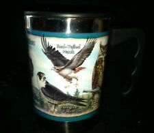 American Expedition EXPLORE & DISCOVER BIRDS Plastic Stainless Steel Travel Mug!