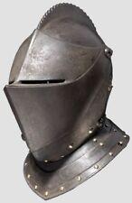 Collectibles Medieval Antique Knight Armor Closed Warrior Helmet Replica Item