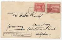 1932 Aug 15th. Cover. Townsville, Queensland to Steinheim, Germany.