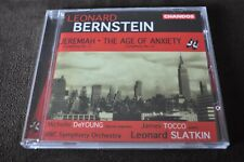 Leonard Bernstein: Jeremiah; The Age of Anxiety CD 2001 Chandos EU